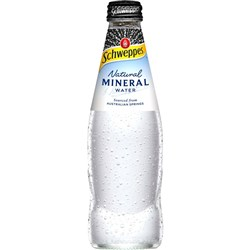 SCHWEPPES NATURAL MINERAL Water 300ml Pack 24