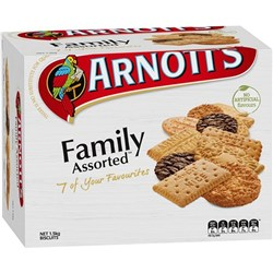 ARNOTTS BISCUITS 1.5kg Family Assorted Bulk Pack