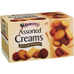 ARNOTTS BISCUITS 3kg Assorted Creams