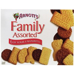 ARNOTTS BISCUITS 3kg Family Assorted
