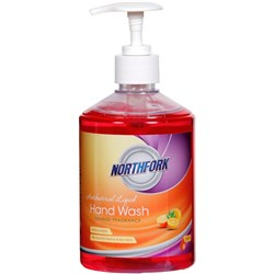 NORTHFORK LIQUID HAND WASH ORANGE FRAGRANCE 500mL