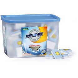 NORTHFORK DISHWASHING TABLETS Premium All In One Tub 100