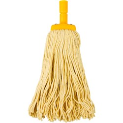CLEANLINK MOP HEAD Coloured 400gm Yellow