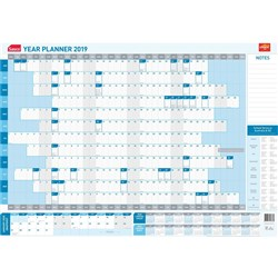 OFFICE CHOICE SASCO YEAR PLANNER 2020 875x610mm