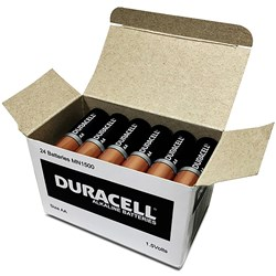 DURACELL ALKALINE BATTERY AA BATTERIES ( 82184952 )
