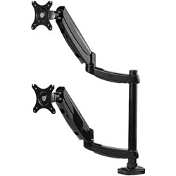 FELLOWES MONITOR ARM Platinum Series Dual Stacking