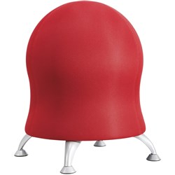 CHAIR SAFCO ZENERGY BALL Red Fabric