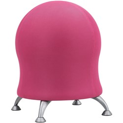 CHAIR SAFCO ZENERGY BALL Pink Fabric