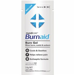 TRAFALGAR BURNAID SACHET Burnaid Burn Gel 3.5gram Pack of 10