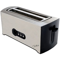 Nero Toaster 4 Slice Stainless Steel