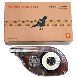 BIBBULMUN CORRECTION Tape * Replaces Office Choice