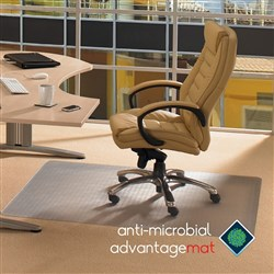 FLOORTEX ANTI-MICROBIAL Chairmat 900x1200mm Standard