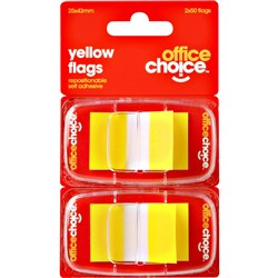 OFFICE CHOICE YELLOW FLAGS