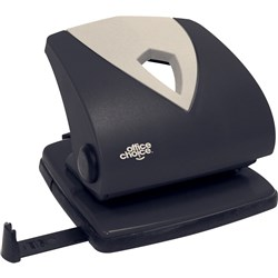 OFFICE CHOICE 2 HOLE PUNCH BLACK 20 SHEET CAPACITY