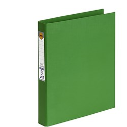 MARBIG BRIGHT PE A4 BINDER 2D Ring 25mm Green