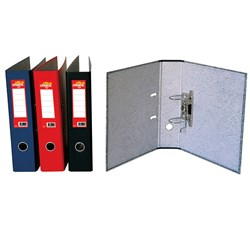 OFFICE CHOICE QUALITY BOARD LEVER ARCH FILE A4 RED