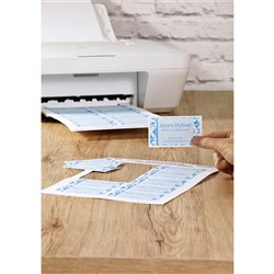 AVERY QUICK & CLEAN BUSINESS CARDS C32011 10 LABELS PER SHEET 200GSM