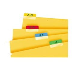 3L MULTI INDEX TAB ASSORTED 25MM