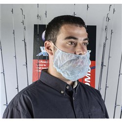 DISPOSABLE PROTECTIVE HEADWEAR Beardcover Single Loop
