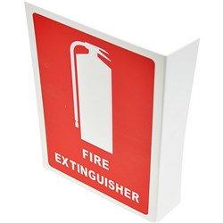 EXTINGUISHER LOCATION SIGN Size: 210x320mm