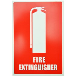 EXTINGUISHER LOCATION SIGN Angled Size: 220x330mm