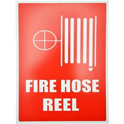 FIRE HOSE REEL LOCATION SIGN Size: 210x320mm