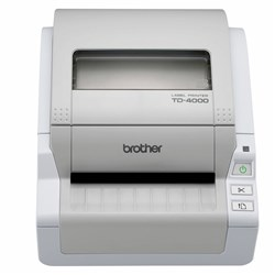 BROTHER TD4000 LABEL PRINTER USB & Serial Interface & Barcode Printer