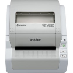 BROTHER TD4100N LABEL PRINTER USB,Serial&Ethernet Interface & Barcode Printer