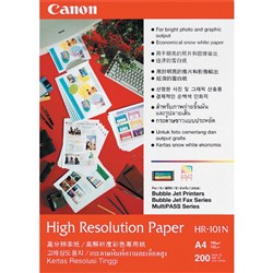 CANON HIGH RESOLUTION PAPER HR101 A4 110GSM PK200