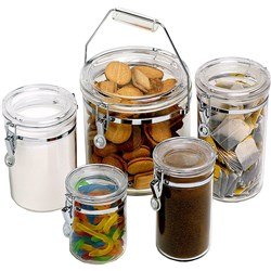 CONNOISSEUR STORAGE CANISTER Round Acrylic 810ml