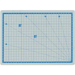 ZART CUTTING MAT DOUBLE-SIDED A4