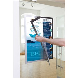 DURABLE DURAFRAME POSTER A2 Silver