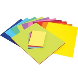 COLOURFUL CARDBOARD COLOURS 510X640MM ROYAL BLUE Pack 50 Sheets