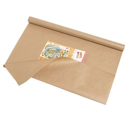Cumberland Tk75075 Book Cover 750mmx7.5m 65gsm Brown Kraft Pack of 20