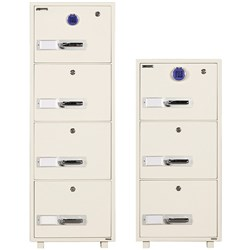 DEFIANCE BF680E4 DIGITAL FILING CABINET 1 HOUR FIRE RATED 4 DRAWER