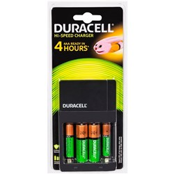 DURACELL ALL IN ONE CHARGER Charges AA&AAA, Inc 2xAA & AAA