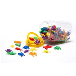 LEARNING CAN BE FUN Garden Bug Counters Jar 144