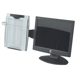 FELLOWES OFFICE SUITE MONITOR MOUNT COPY HOLDER
