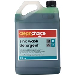 CLEAN CHOICE KITCHEN CLEANER SINK WASH DETERGENT 5LT