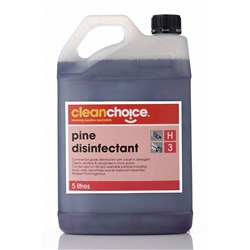 CLEAN CHOICE BUSINESS CLEANER Pine Disinfectant 5 Litre