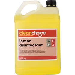 CLEAN CHOICE BUSINESS CLEANER Lemon Disinfectant 5 Litre