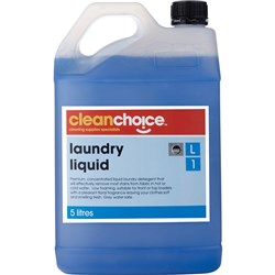 CLEAN CHOICE LAUNDRY CLEANER Laundry Liquid Floral 5 Litre