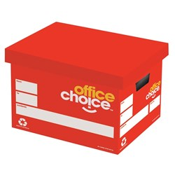 OFFICE CHOICE ARCHIVE BOX 305Wx260Hx400L Available in carton of 20