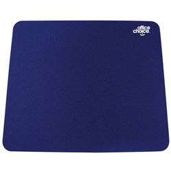 OFFICE CHOICE MOUSE PAD BLUE