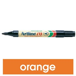 ARTLINE 70 PERMANENT MARKERS MED BULLET ORANGE