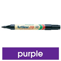 ARTLINE 70 PERMANENT MARKER MED BULLET PURPLE