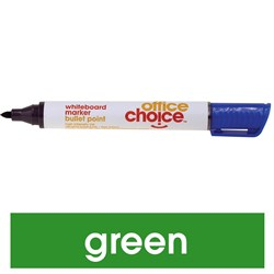 OFFICE CHOICE WHITEBOARD MRKR Marker Bullet Point Green