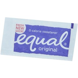 EQUAL SWEETNER PORTIONS Portion Control Sachets Box of 750