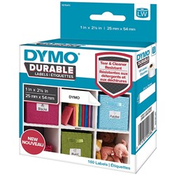 DYMO LABELWRITER LABELS Durable White Label 25mmx54mm