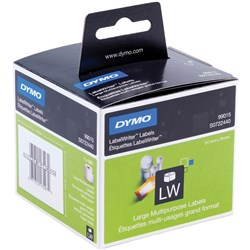 DYMO LABELWRITER LABELS DISKETTE 54X70MM Box of 320 Labels